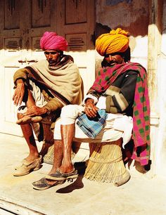 Men in Rajastan / Monica Forss