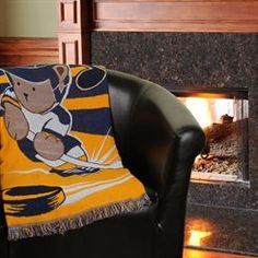 Northwest St. Louis Blues Triple-Woven Jacquard 36'' x 46'' Baby Throw