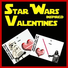Star Wars Inspired Valentines by HappyHealthyThriftyFamily is featured on the Bloggers Spotlight Linky and Pin-it Party #9