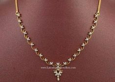 Diamond Necklace Los Angeles over Simple Diamond Necklace Set Cost from Simple Diamond Necklace Set Designs to Jewellery Online Pune till Simple Diamond Necklace Designs For Wedding With Price Simple Necklace Designs, Diamond Necklace Simple, Gold Jewelry Simple, Diamond Pendant, Diamond Jewelry, Indian Diamond Necklace, Diamond Bracelets, Pearl Pendant, Pearl Jewelry