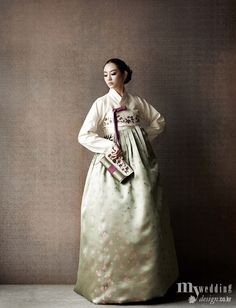 Hanbok, korean traditional clothes / My wedding / 겨울 신부의 따뜻한 첫 인사 / 봅데강