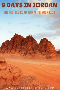Plan an experience of a lifetime road tripping around the historical and natural highlights of Jordan, the hidden gem of the Middle East. | Middle East family vacation | Family Travel