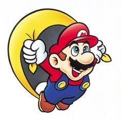 Super Mario World (SNES) Official Artwork of Mario and Yoshi Super Mario World, Super Mario Bros, Super Mario Kunst, Super Mario Brothers, Super Nintendo, Super Smash Bros, Nintendo Games, Super Mario Tattoo, Mario Bros.