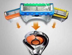 Best Shaving Razor, Disposable Razors, Stainless Steel Drum, Gillette Fusion