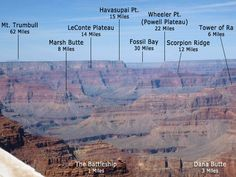 Grand Canyon...you can see for miles
