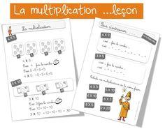 La multiplication : leçon   Bout de Gomme
