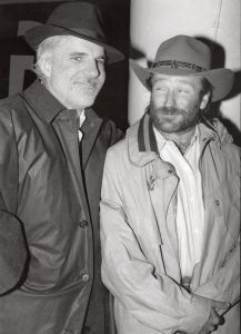 Steve Martin and Robin Williams 1988, NYC