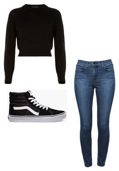 """""""Untitled #27"""" by alaninaissant on Polyvore featuring Helmut Lang, Theory and Vans"""