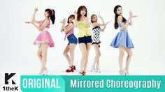 [Mirrored] FIESTAR(피에스타) _ APPLE PIE Choreography(거울모드 안무영상)_1theK Dance...