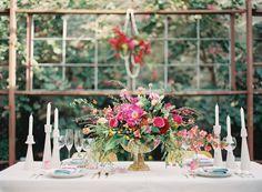 14 Colorful and Inspiring Spring Wedding Tablescapes  - ELLEDecor.com