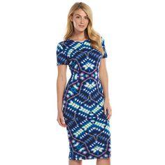 Suite 7 Kaleidoscope Midi Sheath Women's Dress - (Clearance Savings)
