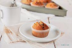 Magdalenas o muffins de capuccino