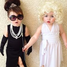And this duo is almost late for the party. | 15 Kids Who Definitely Had Better Halloween Costumes Than You