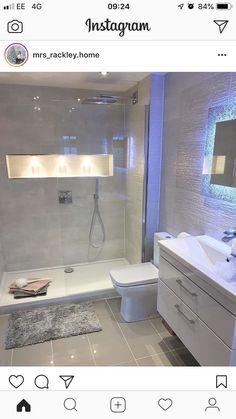 dyi home decor Bathroom Renos, Bathroom Renovations, Small Bathroom, Bathroom Design Luxury, Modern Bathroom Design, Bathroom Design Inspiration, Ideas, Rooms, Future