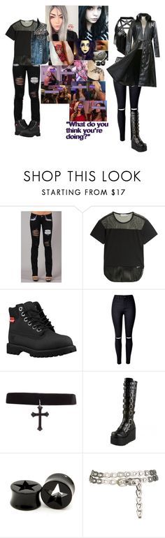 """""""⚪️Calaway Verse/Powerverse⚪️-What Do You Think You're Doing?"""" by wokenhardies ❤ liked on Polyvore featuring Mandi, adidas, Timberland, Killstar and Concord"""