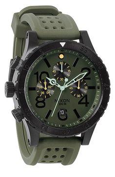 Nixon 'The 48-20 Chrono' Watch, 48mm