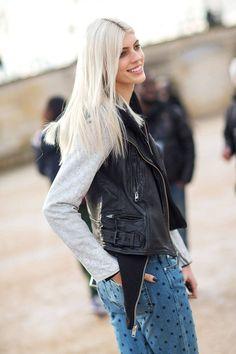 Ma Chérie: Street Style From Paris Fall 2014 - HarpersBAZAAR.com