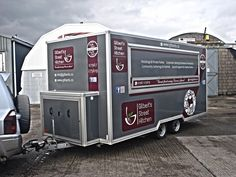 Nice trailer wrap in silver with added graphics after that we recently completed #wrapping #lazerpics