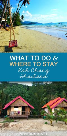 Koh Chang Island, Thailand - What to do and where to stay. If you are looking for a tropical paradise for your next vacation that won't break the bank - this could be it! Click to find out more.     @venturists