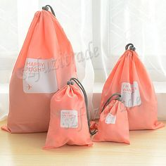 Waterproof Storage Bags For Travel Shoes Laundry Lingerie Makeup Pouch Clothes Organizer