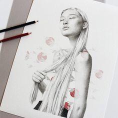 Extrema sensibilidad en las ilustraciones de Clara Encinas