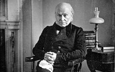 John Quincy Adams. This is the first photograph taken of a U.S. President. Pretty cool.
