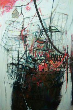 anne laure djaballah // looks like the eeriest of ships