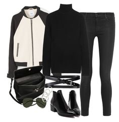 """Sem título #1222"" by oh-its-anna ❤ liked on Polyvore featuring MANGO, J Brand, Equipment, Banana Republic, Marni, Yves Saint Laurent and Vanessa Mooney"