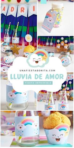 Kit imprimible para fiestas - lluvia de amor #lluviadeamor #partyideas#printable#partyprintable#etsyprintables#party#partying#partystyling#mypartystyle #partyplanner#partydecor#partyideasgroup#kidsparties#partyideasforkids#kidsparty#birthdayparties#partykids#partyinspiration#partydecoration#partydesigner#partyprintables#diypartydecor#birthdaypartyideas#ideasdedecoracion#fiesta#fiestasinfantiles Baby Shower Bingo, Baby Shower Printables, Baby Shower Favors, Party Printables, Baby Shower Themes, Baby Shower Invitations, Baby Sprinkle, Diy Party Decorations, Party Shop