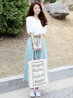 Doresuwe.com SUPPLIES 2015夏韓国風優雅なマキシワンピース マキシワンピース (4)