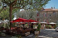 "Tourtour, Provenc   ""La Farigoulette"" restaurant"