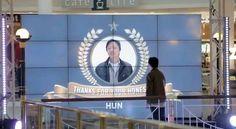 Honesty should not go unnoticed- Australia bank pr, digital signage in shopping centre