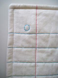 Binder paper quilt