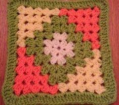 Transcendent Crochet a Solid Granny Square Ideas. Inconceivable Crochet a Solid Granny Square Ideas. Crotchet Patterns, Granny Square Crochet Pattern, Crochet Blocks, Crochet Granny, Crochet Afghans, Crochet Squares, Crochet Blanket Patterns, Crochet Motif, Crochet Designs