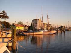 Southport, NC.  The most awesome, beautiful, small, coastal, historic town...& truly an American treasure.