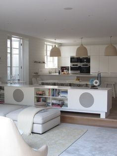 open plan kitchen- family room - ANNA CARIN Design