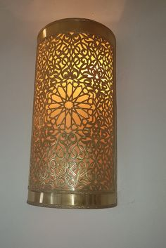 Moroccan sconce indoor wall sconce wall sconce traditionel | Etsy Moroccan Pendant Light, Moroccan Lighting, Moroccan Lamp, Moroccan Lanterns, Arabesque, Indoor Wall Sconces, Applique Led, Cool Lamps, Lanterns Decor