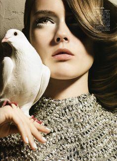 Model: Monika Jagaciak | Photographer: Solve Sundsbo - 'Beyond White' Vogue Nippon, May 2010