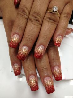 Red and gold …