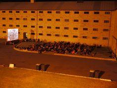 Rural Cinema screening of The Shining at Fremantle Prison, in Western Australia. Places Around The World, Around The Worlds, Magic Plus, Outdoor Cinema, Local Parks, Movie Theater, Western Australia, Summer Nights, Prison