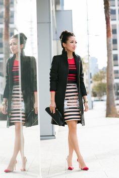 Mobius Stripes :: Printed skirt