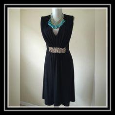 Calvin Klein Dress Calvin Klein black flair Dress Calvin Klein Dresses