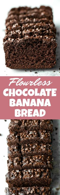 A flourless morning glory muffin that's gluten-free, refined sugar-free, dairy-free, oil-free and whipped up in the blender in under 5 minutes flat! Chocolate Banana Bread, Flourless Chocolate, Chocolate Recipes, Gluten Free Baking, Gluten Free Desserts, Ketogenic Desserts, Healthy Sweets, Healthy Baking, Baking Recipes