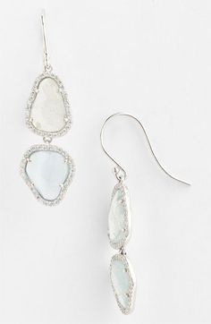 Nadri Sterling Silver and Milky Quartz Collection