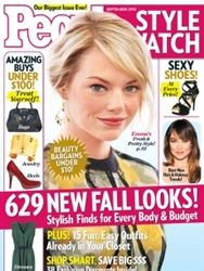 People StyleWatch Magazine September 2012 on sale now at www.shipzoo.com