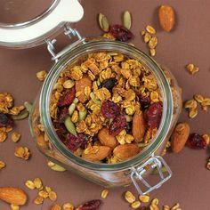Heart Healthy Pumpkin Granola