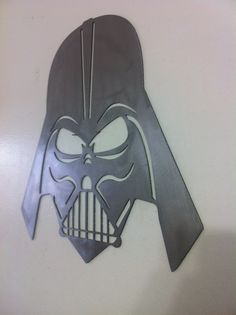 For the Ultimate Star Wars fan here is a cnc steel cut Darth Vader Mask. Made…