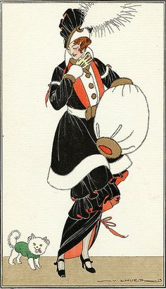 """Robe de Charmeuse"" ~ V. Lhuer, 1913"