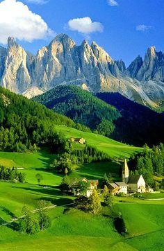 Dolamites, Italia