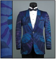 Vintage Mens Tuxedo Dinner Jacket 1960s JUNGLE by jauntyrooster, $185.00